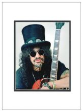 Slash Autograph Signed Photo - Guns N Roses